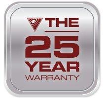 Cyclo Vac 25 year Warranty
